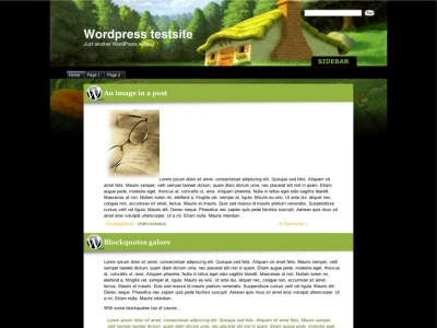 Digital Grass Wordpress Theme