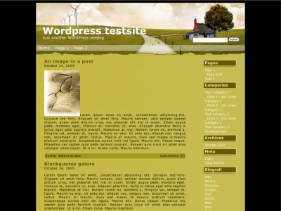 Pitstop Wordpress Theme